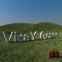grass shader 3d model
