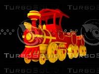 3d model toon train
