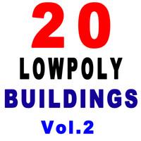 20 buildings 3d max