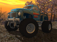 3d 1953 chevy monster truck