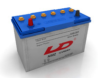 3d model car battery