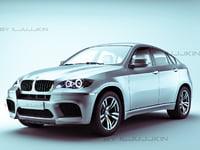 crossover x6m car 3d model