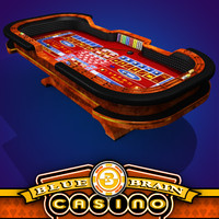 Casino - Craps Table - Red