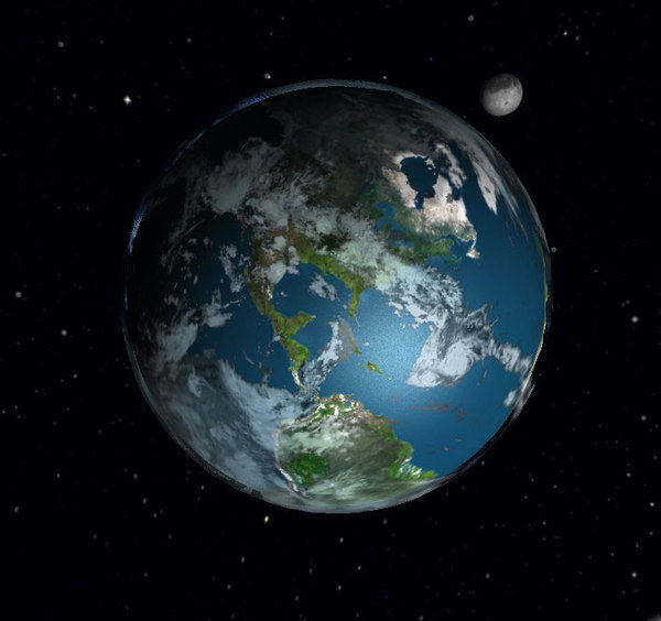 Planet Earth 3d Model Planet Earth 3d Model Click
