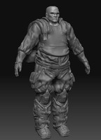 3d heavy soldier