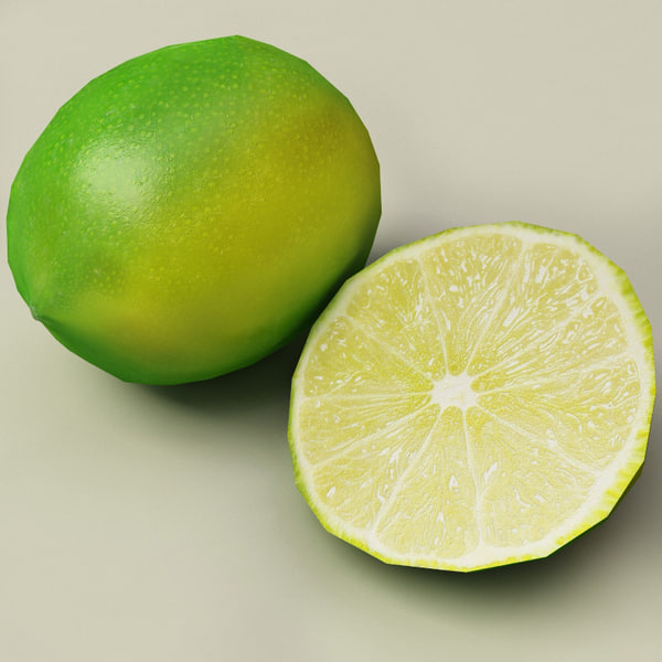 3d limes modelled - Limes collection... by 3d_molier