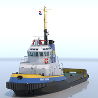 Harbour Tug Smit Japan