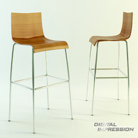 3d model of place chair