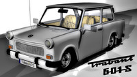 3ds max trabant 601s