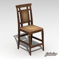 chair standard 3d max