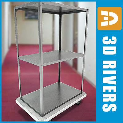 Linen cart 01 by 3DRivers