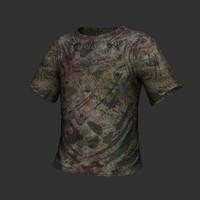 t-shirt shirt 3d obj