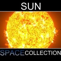3ds max sun star solar