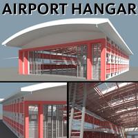 3d model hangar