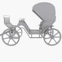 3ds victorian carriage