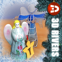 maya angel christmas decorations