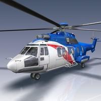 3d model eurocopter ec 225