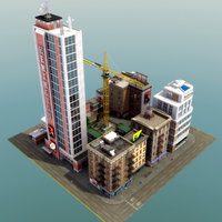 HD-City_Block-D_3DModel