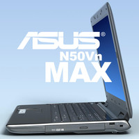 notebook asus n50vn 3d model