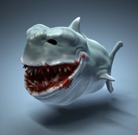 Sharkta ZBrush Sculpture