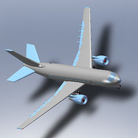 3ds max solidworks aircraft