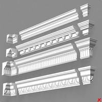 cornice 3d model