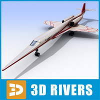 3d model of aerion sbj