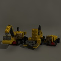 lego blocks 3d model
