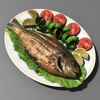 3ds max fish