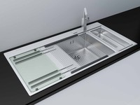 max modern kitchen sink accessories
