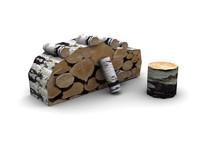 firewood wood 3d model