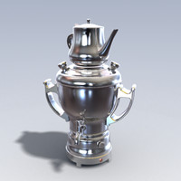 3ds max photo realistic samovar