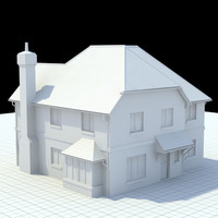 Highly detailed english house 4