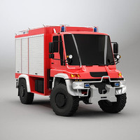 maya truck firetruck unimog