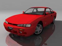free nissan 200sx 3d model
