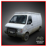 3d van dirty version model