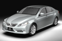 Toyota Mark x 3D models