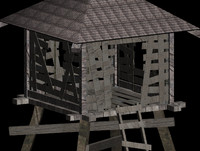army tower count 3d max