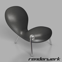 embryo chair 3d model