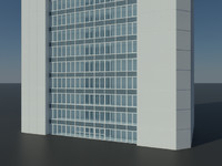 skyscraper office building version 3d 3ds