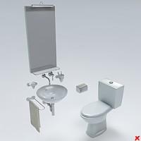 3d 3ds toilet