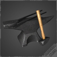3d tools blacksmith