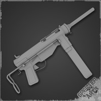 3ds max 45 m3a1 grease gun