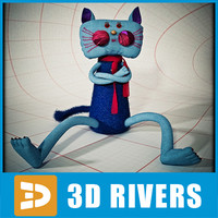 Toy cat by 3DRivers