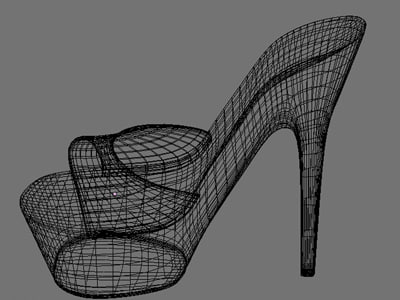3d model shoes - Shoes6... by Xquick
