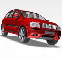 car xc90 luxury 3d max