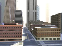 city roads 3d 3ds