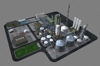 industry example 3d max