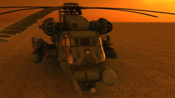 lwo pave helicopter lightwave - pave_low.rar... by rustythe1
