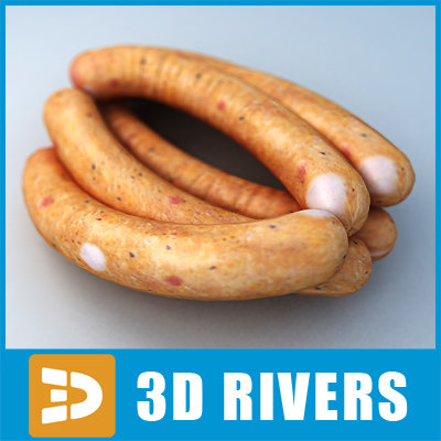 Sausage 03 by 3DRivers